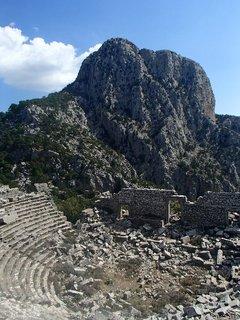 FOTKA - Turecko-Termessos-amfiteáter-ešte stále je dobrá akustika