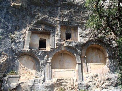 FOTKA - Turecko -Termessos - hroby panovníkov