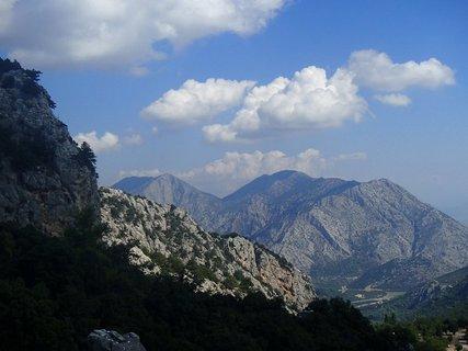 FOTKA - Turecko -Termessos - krásny pohľad z vrchu hory