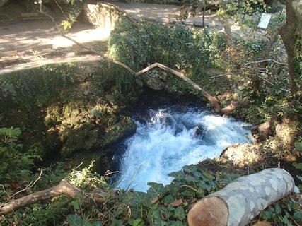 FOTKA - Turecko-zurčiaca voda pri vodopádoch
