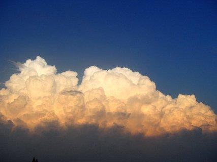 FOTKA - Turecko-oblaky ako šľahačka