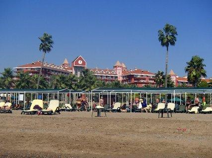 FOTKA - Turecko-pohľad z pláže na hotel