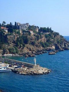 FOTKA - Turecko-malá pevnosť pri prístave v Antalyi