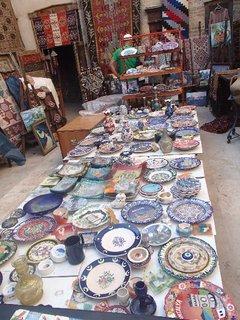 FOTKA - Turecko-obchodík s keramikou a kobercami