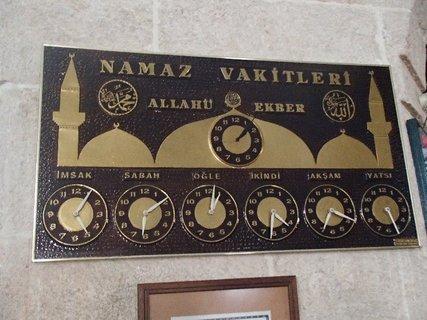 FOTKA - Turecko-zobrazenie času v mešite