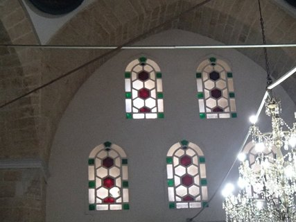 FOTKA - Turecko-mozaikové okná v mešite
