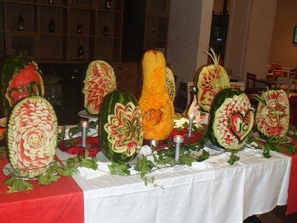 FOTKA - Turecko-vystavené vyrezávané melóny