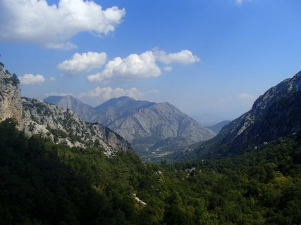 FOTKA - Turecko-pohľad z vrchov pohoria Taurus