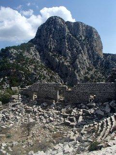 FOTKA - Turecko-Termessos-zničené divadlo