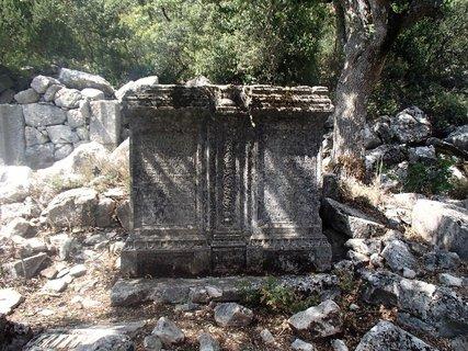 FOTKA - Turecko-Termessos-jeden z pilierov