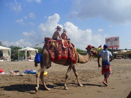 FOTKA - Turecko-atrakcia pre turistov (už sa to podobá na Egypt) :)