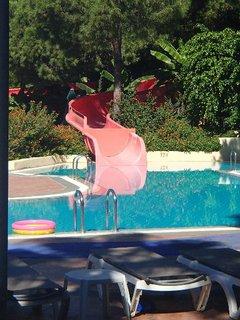FOTKA - Turecko-malé tobogány v detskom bazéne