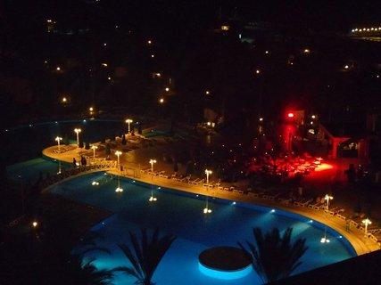 FOTKA - Turecko-večerné osvetlenie pri bazéne
