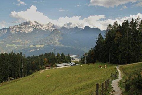 FOTKA - Výšlap na Loferer-Alm - Cestou zpátky