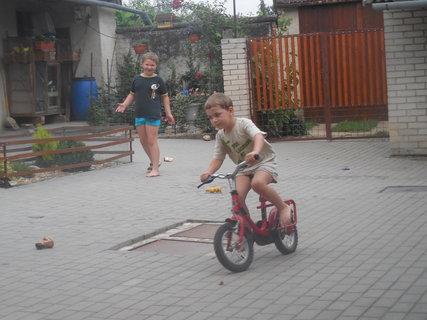 FOTKA - Davídek machruje jak jezdí