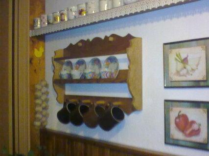 FOTKA - interier  v chalupe
