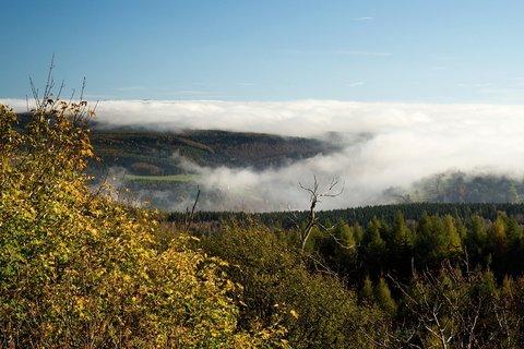 FOTKA - Inverze z Kamenného vrchu