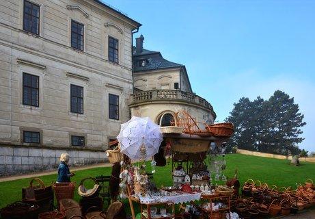 FOTKA - Podzimní trhy v zámecké zahradě