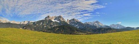 FOTKA - Vyhlídka Kühbühel a Ritzensee - Mezi modrou a zelenou Kamenné moře