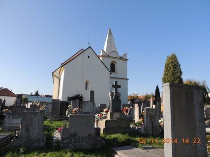FOTKA - Kostelík v Okřesanči 2.11.2014