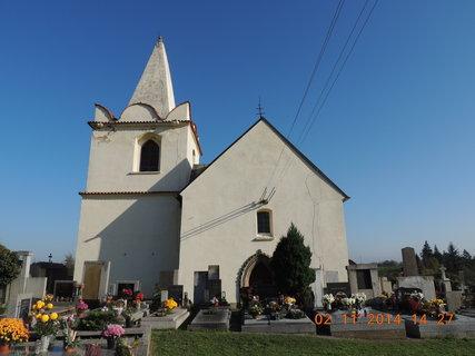 FOTKA - Kostelík v Okřesanči 2.11.2014 z druhé strany