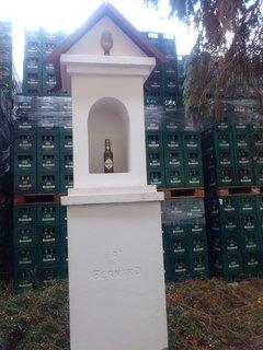 FOTKA - Humpolec, pivovar Bernard, zlatý, svatý Bernard