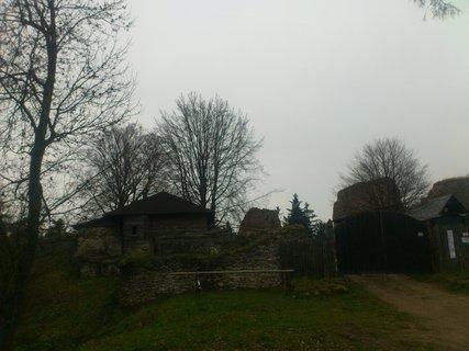 FOTKA - hrad Orlík u Humpolce, za zdmi hradu