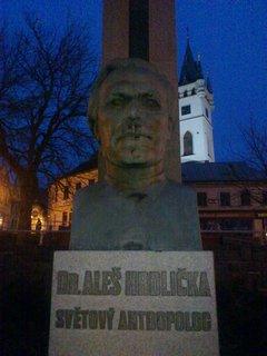 FOTKA - Humpolec, památník antropologa