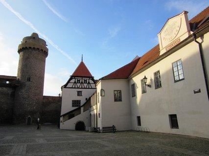 FOTKA - Nádvoří hradu ve Strakonicích
