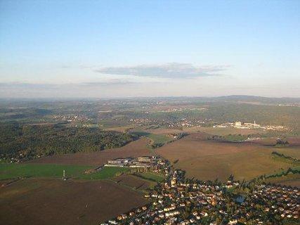 FOTKA - říjnový let nad Plzní