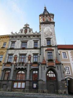 FOTKA - v Prachaticích na nám.jsou krásné budovy