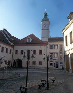 FOTKA - nádvoří Staré radnice v Uh. Hradišti