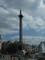 Trafalgarské náměstí - socha admirála Nelsona