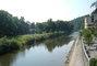 Bečva - z mostu