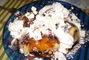 Oběd - meruňkové knedlíky
