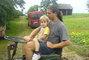 Ondra na traktoru