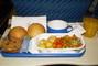 Večeře v letadle