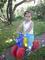 Denis na motorce