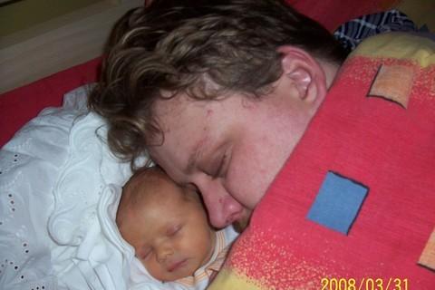 FOTKA - Adélka s tatínkem