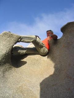 FOTKA - Kamenné křeslo