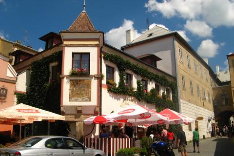 FOTKA - ulička v Českém Krumlově