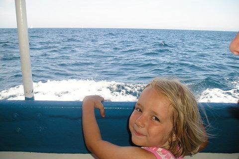 FOTKA - Verunka na lodi