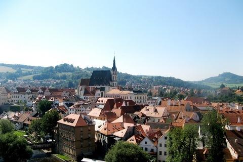 FOTKA - střechy města