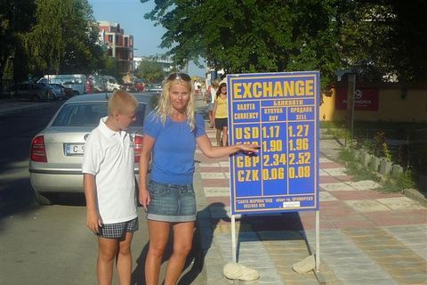 FOTKA - dcera s vnukem v Bulharsku