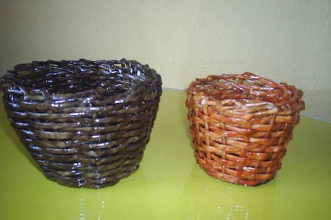 FOTKA - papirove pleteni