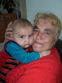 FOTKA - Jurášek s babičkou