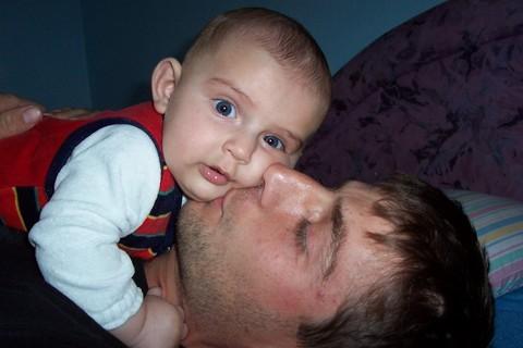 FOTKA - Jurášek s tatínkem