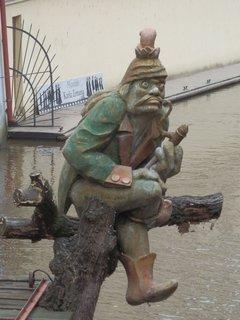 FOTKA - vodník na Čertovce, Praha