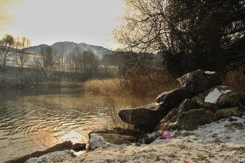 FOTKA - Začátek zimy na Ritzensee - Na druhé straně jezera