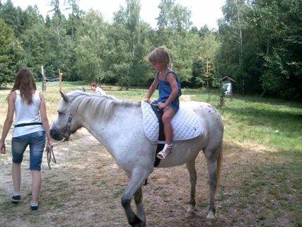 FOTKA - na koníku-radost a vzrušení